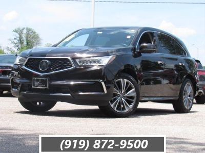 2017 Acura MDX w/Technology Pkg (Black Copper Pearl)