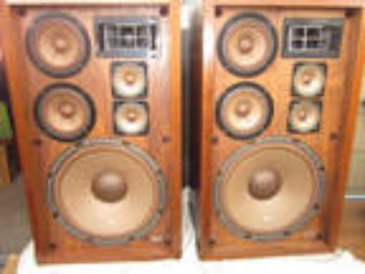 Vintage Pioneer Cs-88a Speakers (2) 1-Owner Very Nice Tested