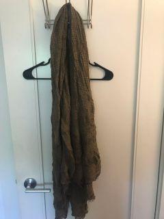 Zara Olive Green Scarf One Size