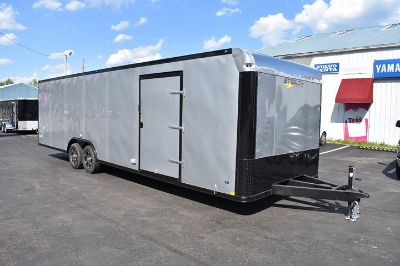 2019 28' loaded race trailer