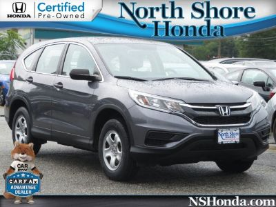 2015 Honda CR-V LX (Modern Steel Metallic)