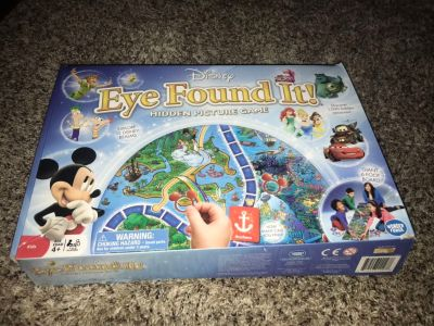 NIB DISNEY EYE FOUND IT HIDDEN PICTURE BOARD GAME