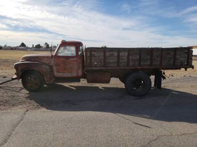 1948 Chevy 5-Window Flatbed RUNS! TRADE!