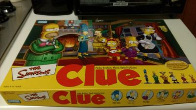 The Simpsons Clue game 2002