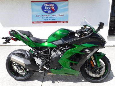 2018 Kawasaki Ninja H2 SX SE SuperSport Motorcycles Stuart, FL