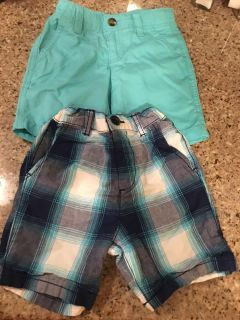 Size 2T shorts-$5 for both
