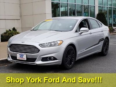 2016 Ford Fusion SE (Ingot Silver)