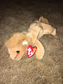 Roary beanie baby with tag