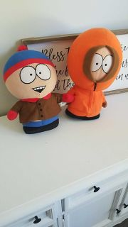 South Park character stuffed animals
