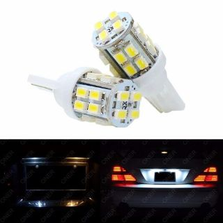 Buy 2 x T10 Xenon White 20 SMD LED 168 194 2825 W5W License Plate Light For Acura RL motorcycle in Chicago, Illinois, United States