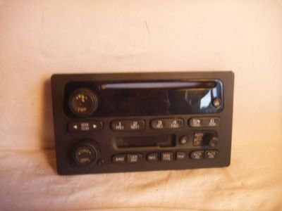 Buy 03-05 GM Chevrolet GMC Tahoe Yukon Radio Cassette Cd Face Plate 15104156 kc88 motorcycle in Williamson, Georgia, United States