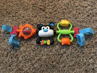Infantino puppy car seat or stroller toy