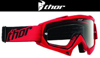 Buy Thor Youth Enemy Red Dirt Bike Goggles Motocross MX ATV 2014 motorcycle in Ashton, Illinois, US, for US $22.95