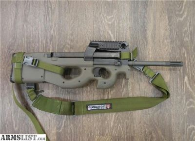 For Sale: FNH USA EARLY PS90 OD GREEN W/ GEN2 TRIGGER 5.7X28