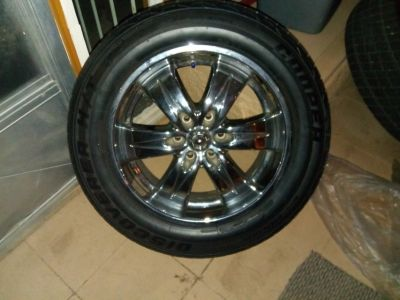 Rims and tires 275/50R20