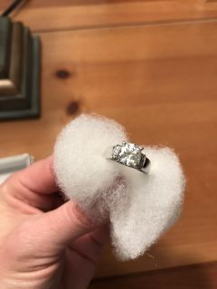 CZ ring - size 5