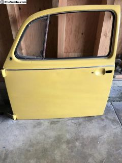 1968-73 VW Beetle driver's door