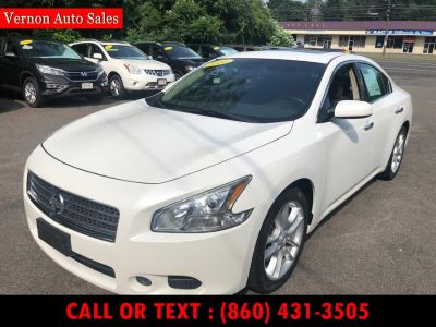 2011 Nissan Maxima 3.5 S (Winter Frost Pearl)