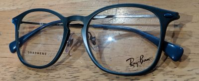 Ray Ban Clear Lens Blue Frame NonRx Smart Lens Glasses