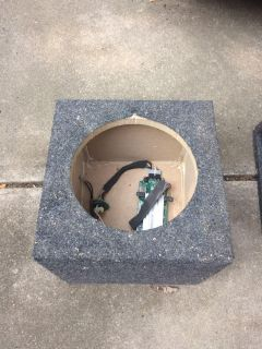 """Speaker boxes. 3x 10"""" boxes and 1x 12"""""""