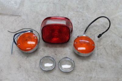 Sell 2003 HARLEY-DAVIDSON SOFTAIL REAR LEFT RIGHT TURN SIGNALS LIGHT INDICATORS BRAKE motorcycle in Dallastown, Pennsylvania, United States, for US $65.00
