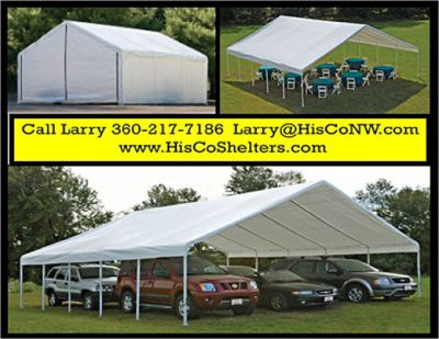 Weather Shield and Shade Canopies! 30 to 50 long