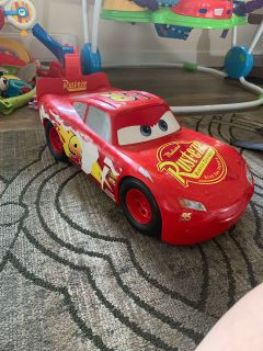 Large McQueen car