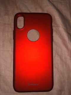 Red iPhone X/XS case