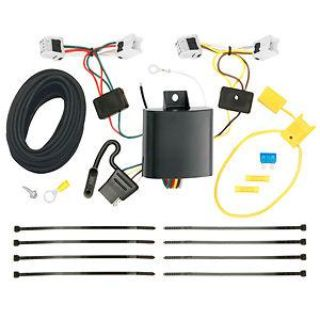 Purchase T-One Assembly w/ Upgraded Circuit Protection Trailer Hitch Wiring Light Kit motorcycle in Grand Prairie, Texas, US, for US $48.99