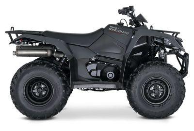 2019 Suzuki KingQuad 400ASi+ Utility ATVs Belleville, MI