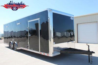 28' Continental Cargo SPD-LED Race Trailer Wacobill.com