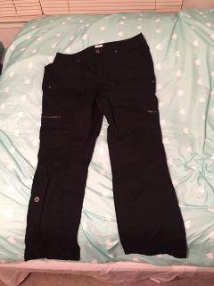 Women s 16w black convertible pants