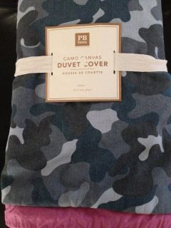 Pottery Barn Twin Duvet Cover New