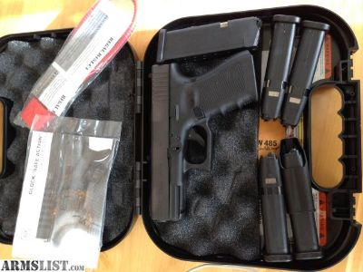 For Sale: Glock G23 Gen4 G4 .40, 6 Mags Never fired NIB
