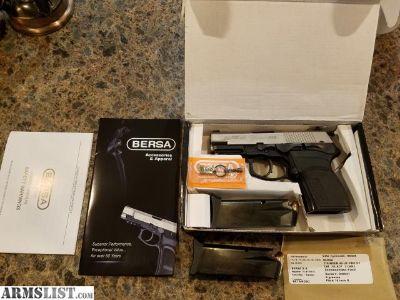For Sale: Bersa Thunder .45