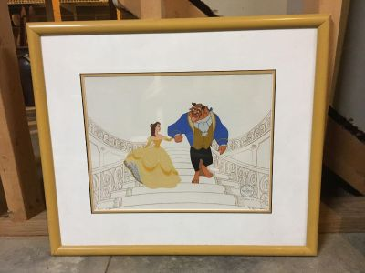 Various framed pictures for sale