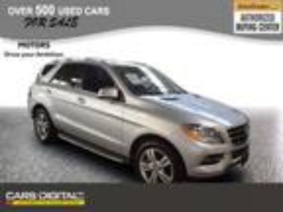 $25819.00 2015 Mercedes-Benz M-Class with 46858 miles!