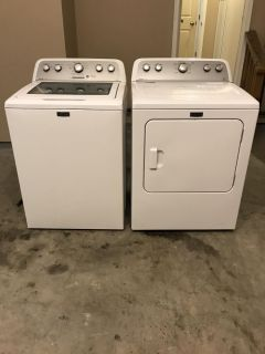 Maytag Bravos Washer and Dryer