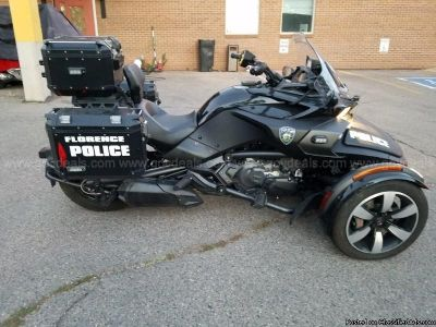2017 Can Am Spyder POLICE