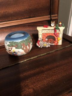 2 tealight candle holders