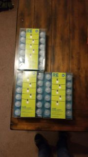 Globe String Lights, 60 Ft total, 3 sets, 25 light per set, 20 ft., New in Box, all for $20-Xposted