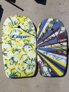Set of 2 boogie boards