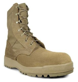 Mil-Spec Hot Weather Coyote Boot w/ Vibram Sierra Outsole