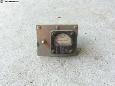 Antique Milliamperes D.C. Meter Weston Model 1011