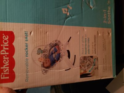 fisher price 2 in 1 soothe and play BNIB