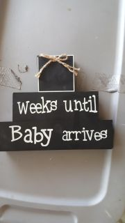 Baby arrives counting frame