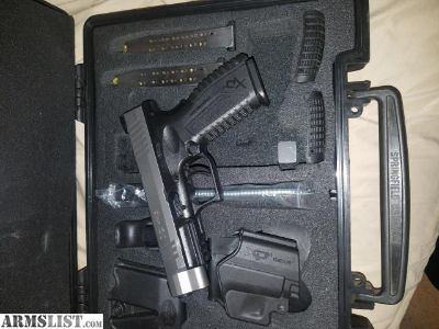 For Sale/Trade: Springfield XDM .40 full size