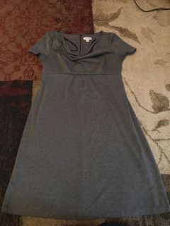 Liz Lange maternity medium grey dress - ppu (near old chemstrand & 29) or PU @ the Marcus Pointe Thrift Store (on W st.)