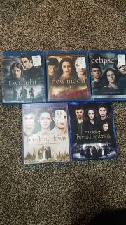 Twilight complete bluray collection