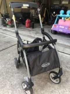 Graco click connect car seat stroller frame